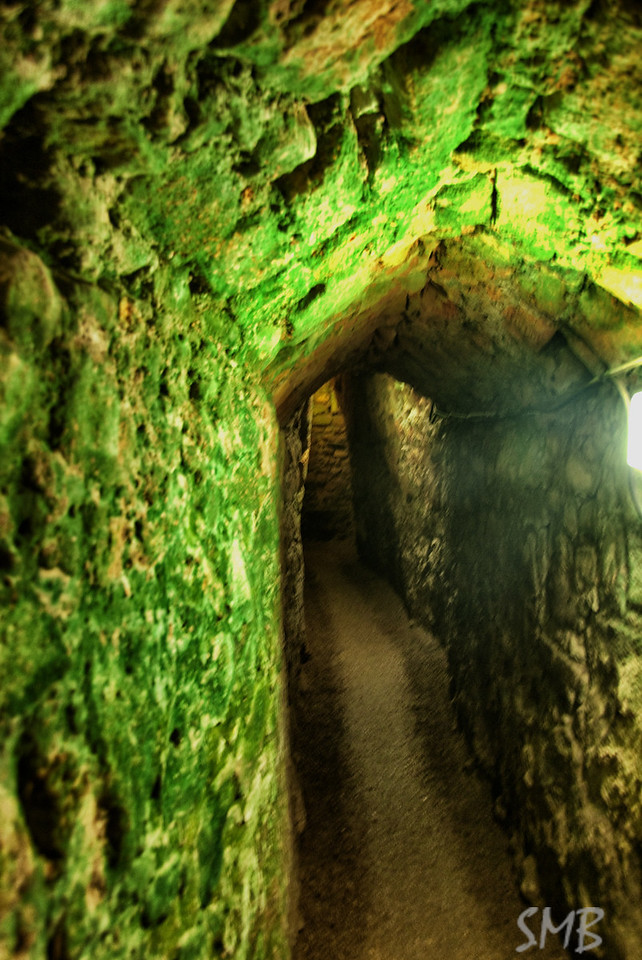 the escape tunnels under the old city<br /> <br /> Acre, Israel