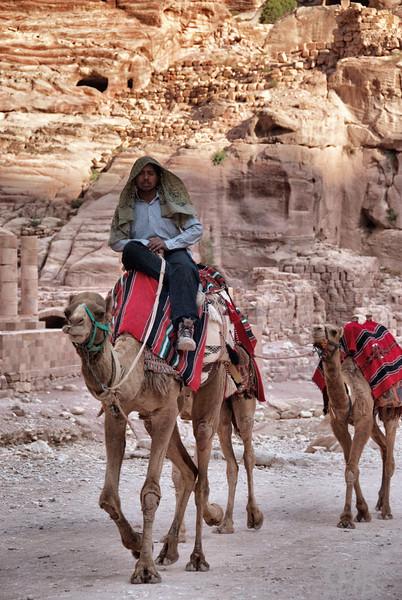 Want to ride a camel?<br /> Petra, Jordan