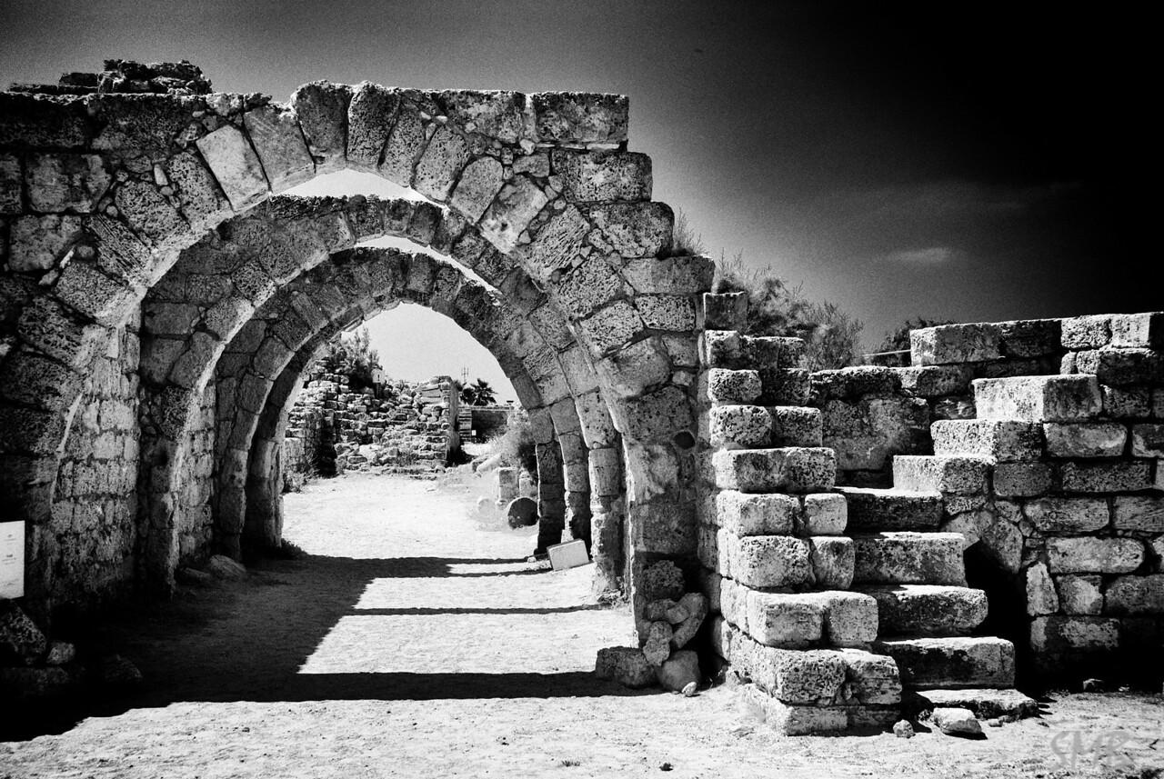Arches<br /> <br /> Caesarea, Israel