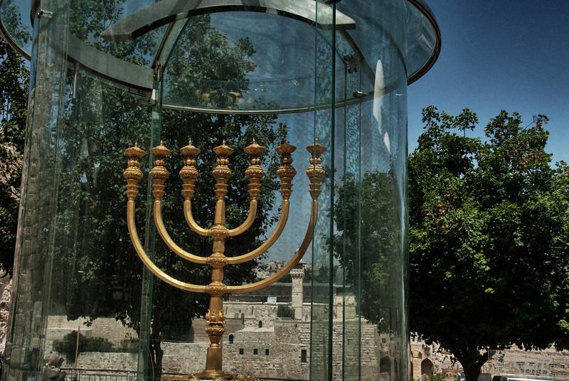 The menorah for the unbuilt temple<br /> Jerusalem, Israel