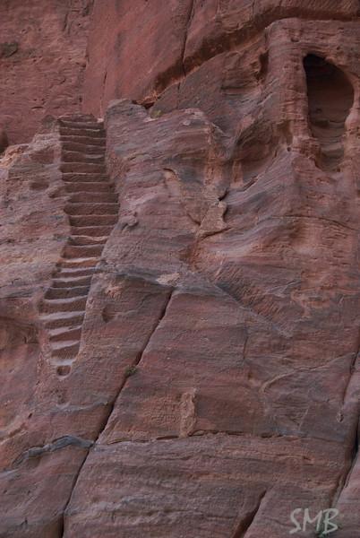 stairs<br /> Petra, Jordan