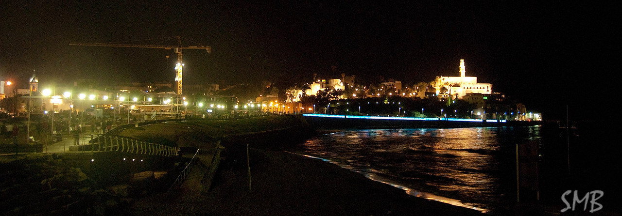 Jaffa at night<br /> Tel Aviv, Israel