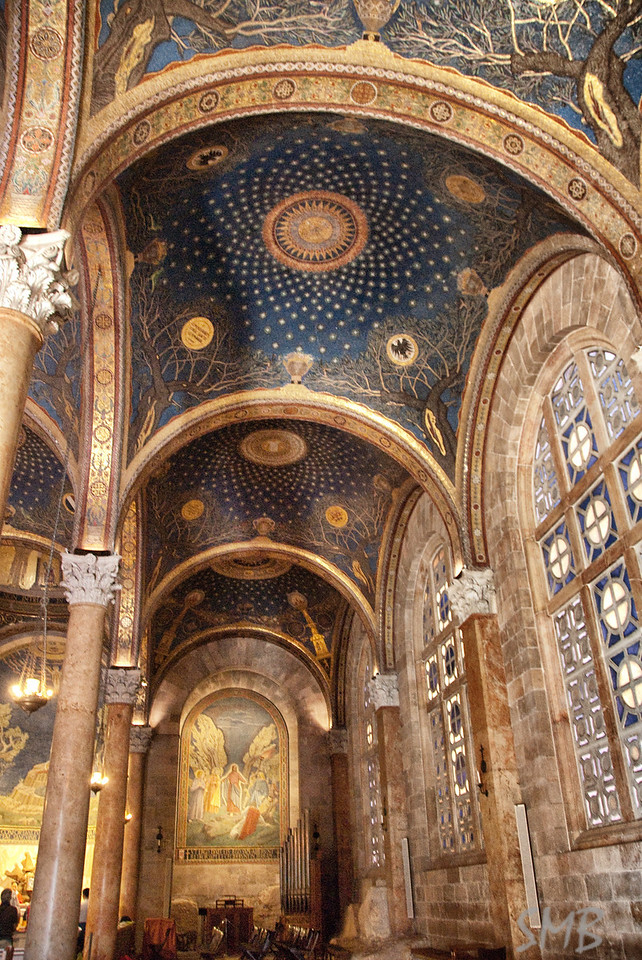 Inside the Church of All Nations<br /> <br /> Jerusalem, Israel