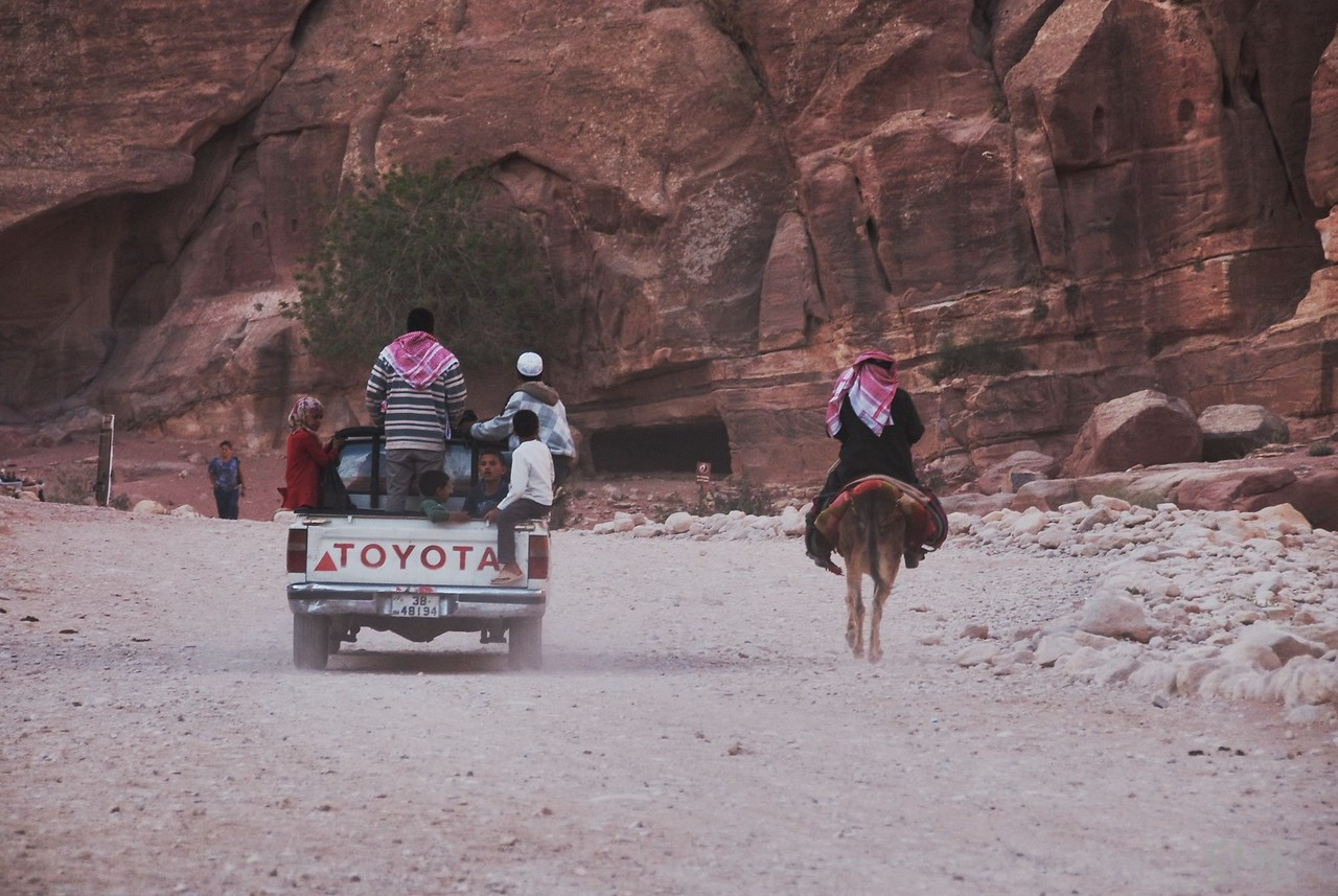 Changing culture<br /> Petra, Jordan