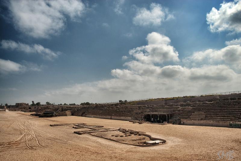 Chariots raced here<br /> <br /> Ceasarea, Israel