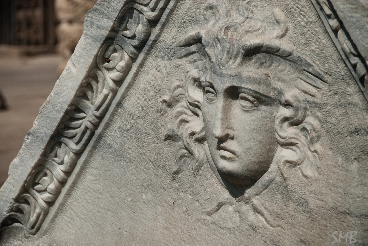 sarcophagus<br /> <br /> Caesarea, Israel