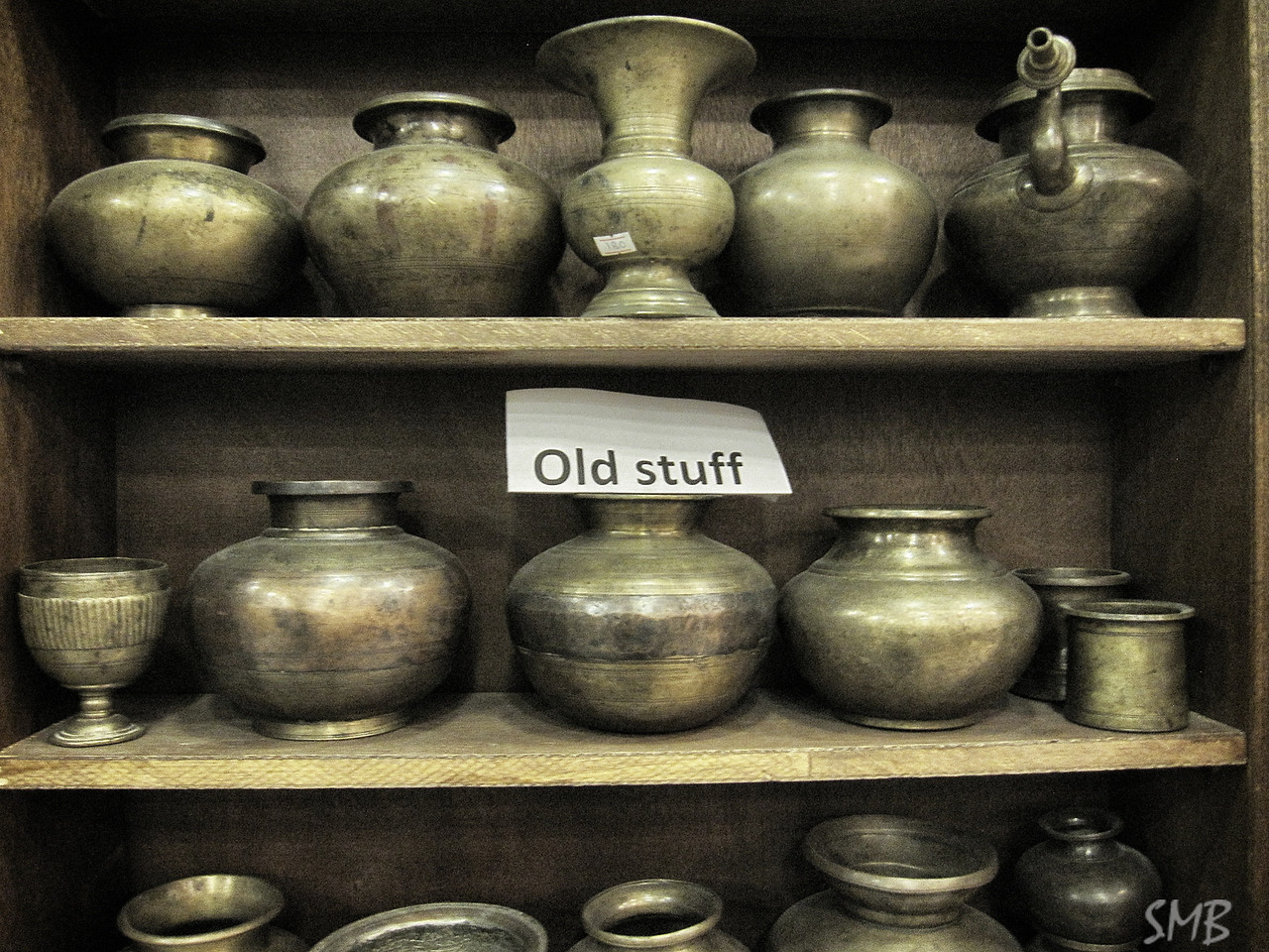 Old Stuff in a store on the way to Petra<br /> <br /> Jordan