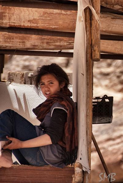 Bedouin girl<br /> <br /> Petra, Jordan