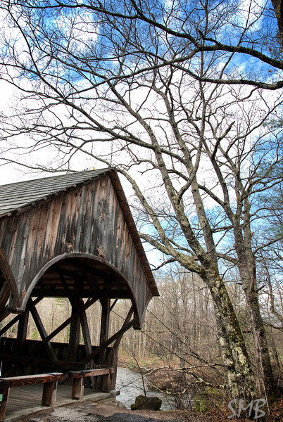 the covered bridge<br /> <br /> Bethel, Maine