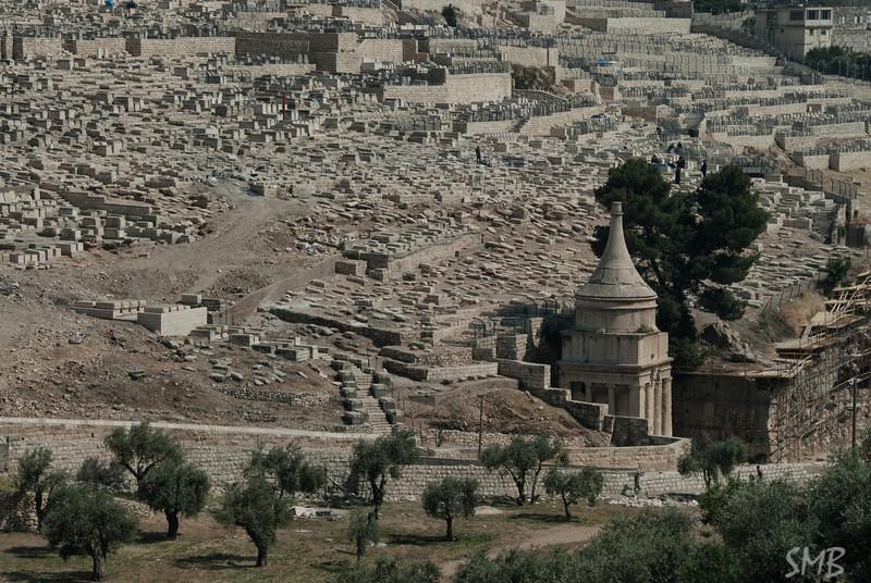 Mount Olive tombs<br /> Jerusalem, Israel