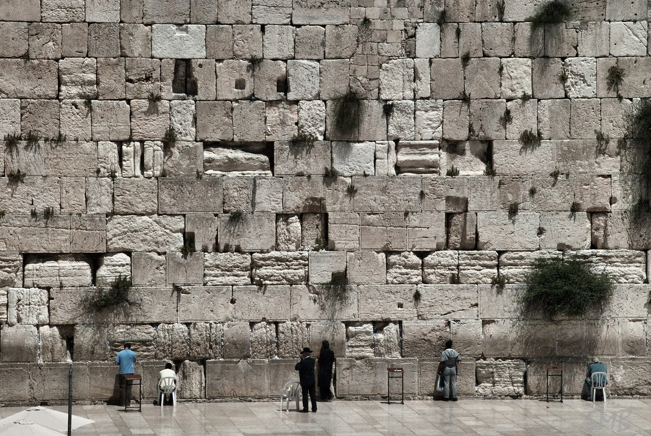 The Wailing Wall<br /> <br /> Jerusalem, Israel