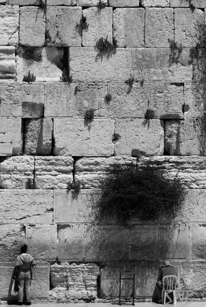 The Wailing Wall<br /> <br /> Jerusalem, Israel