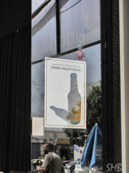 Drink Palestinian!<br /> Taybeh Beer<br /> <br /> Bethlehem, Palestine