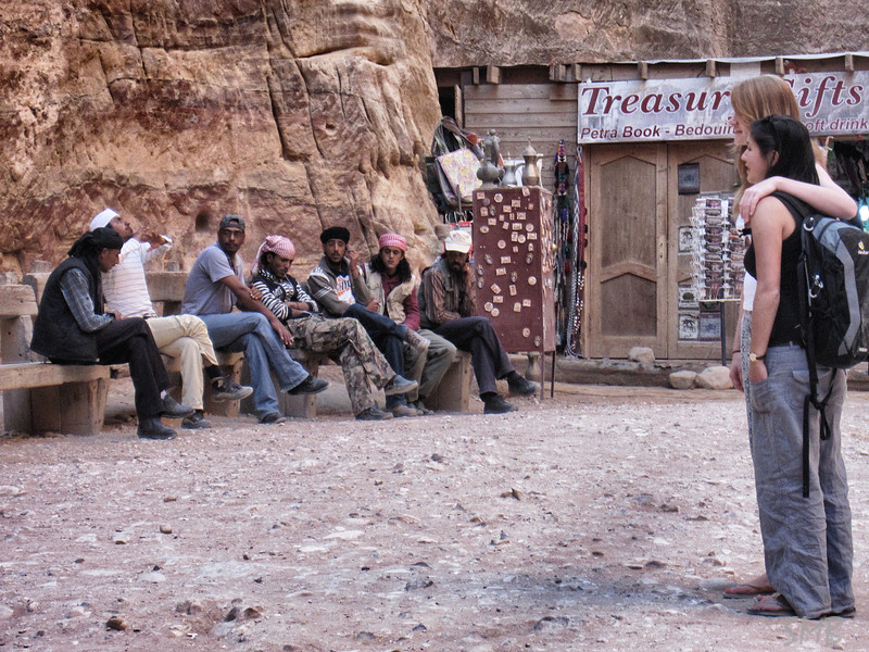 It was interesting to see when and how the Bedouins interacted with the tourists<br /> <br /> Petra, Jordan