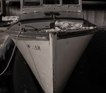 Infrared Lobster Boat
