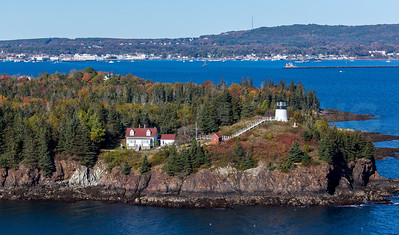 MIP AERIAL OWLS HEAD LIGHTHOUSE ME-1329