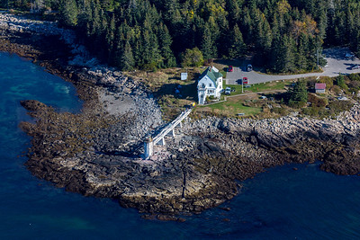 MIP AERIAL MARSHALL POINT LIGHT PORT CLYDE ME-1267