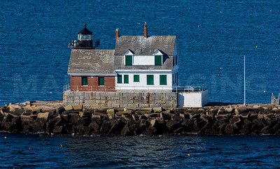 MIP AERIAL ROCKLAND BREAKWATER LIGHTHOUSE ME-1349