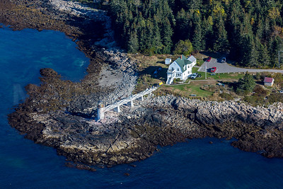 MIP AERIAL MARSHALL POINT LIGHT PORT CLYDE ME-1270