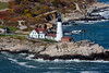 MIP AERIAL PORTLAND HEAD LIGHT CAPE ELIZABETH ME-4924