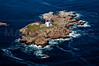 MIP AERIAL NUBBLE LIGHTHOUSE CAPE NEDDICK YORK ME-0587