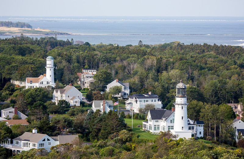 MIP AERIAL TWO LIGHTS CAPE ELIZABETH ME-0779
