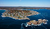MIP AERIAL NUBBLE LIGHTHOUSE CAPE NEDDICK YORK ME-0590