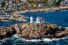 MIP AERIAL NUBBLE LIGHTHOUSE CAPE NEDDICK YORK ME-0572