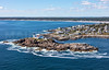MIP AERIAL NUBBLE LIGHTHOUSE YORK ME-4086