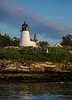 Burnt Island Lighthouse.  Boothbay Harbor, Maine.  8349