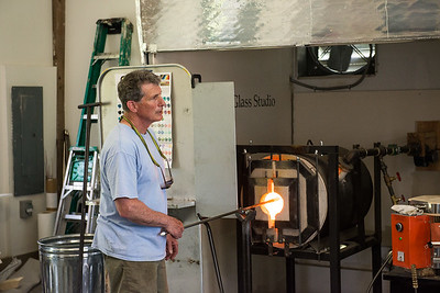 David Jacobson Glass Blowing
