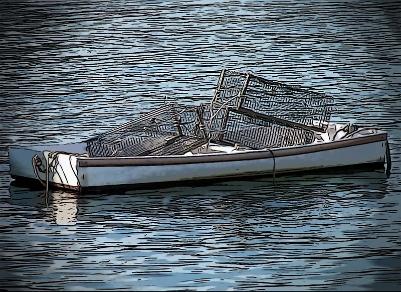 Lobster Traps - Perkins Cove - Ogunquit, Maine