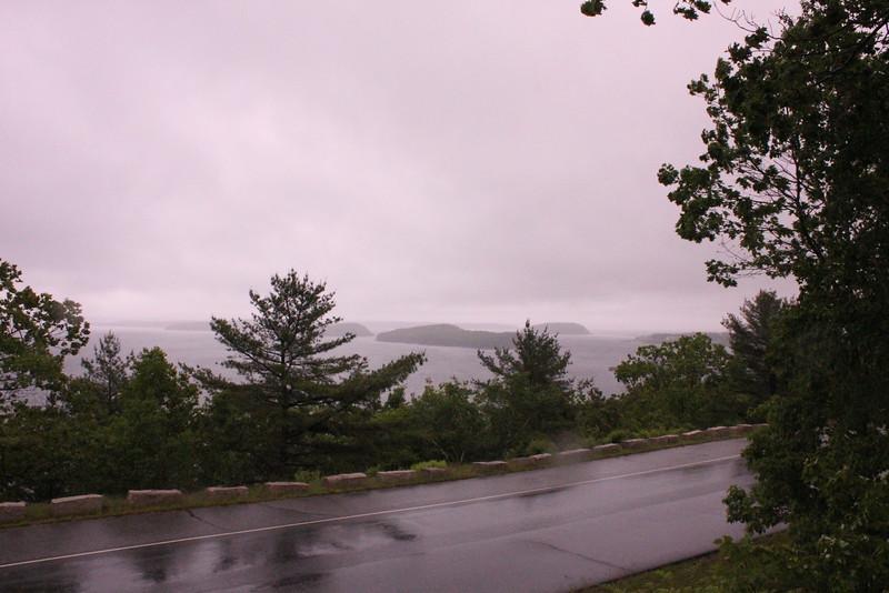 Travel Road to Cadillac MT, Bar Harbor Maine