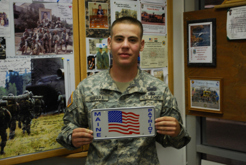 PFC Gregory M. Ishihara, from South Portland ME, attached to the 82nd Airborne.