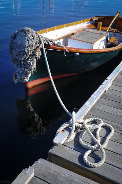 Boat at Camden Harbor