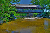 Covered bridge in Newry maine