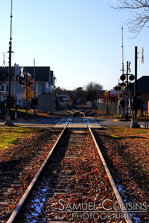 Railroad through Brunswick