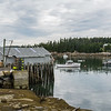 Picturesque Burnt Cove was on the way to dinner in Stonington.  Burnt Cove is a lobster fishing community.