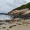Granite shore at Sand Beach