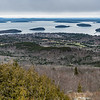 Bar Harbor and the islands in Frenchman's Bay