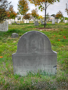 Grave of Mr Ebenezer Hall, who died in 1823, in the Eastern Cemetery.