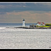 Portsmouth Harbor lighthouse from Fort McClary Maine