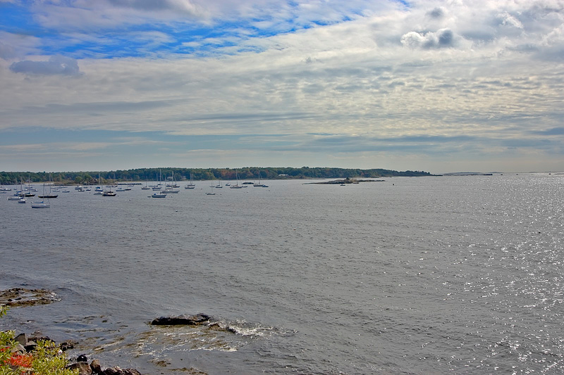 Portsmouth Harbor from Fort McClary