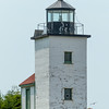 Mark Island Light, an unusual square lighthouse structure