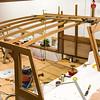 Wheelhouse roof beams