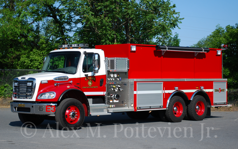 Union Fire Department<br /> Engine-3<br /> 2012 Freightliner/ALF Liberty 1000/3000<br /> Photo by: Alex M. Poitevien Jr.