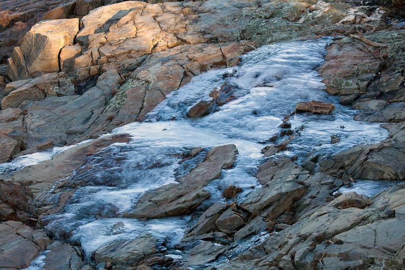 Ice rocks painted 8897