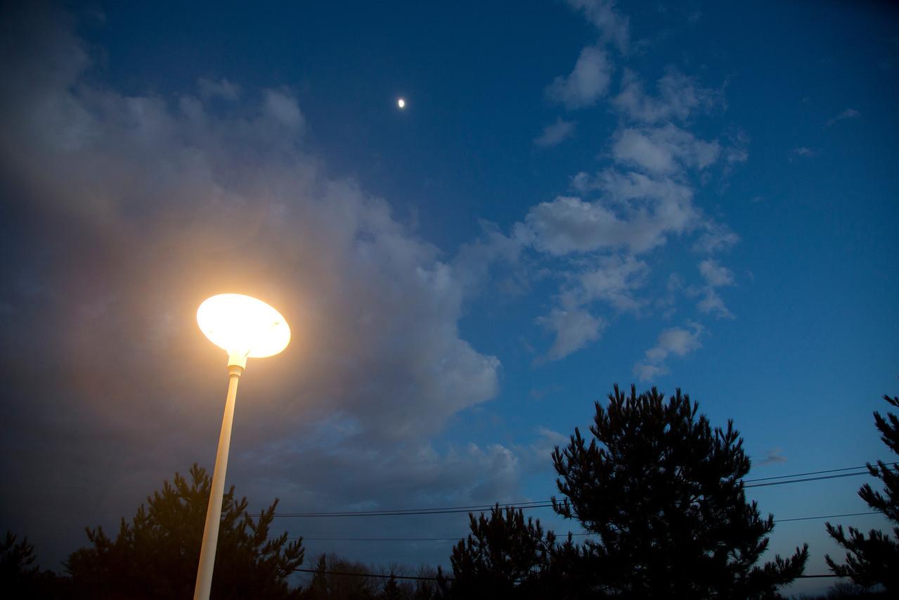 Lamp moon,tree C4644