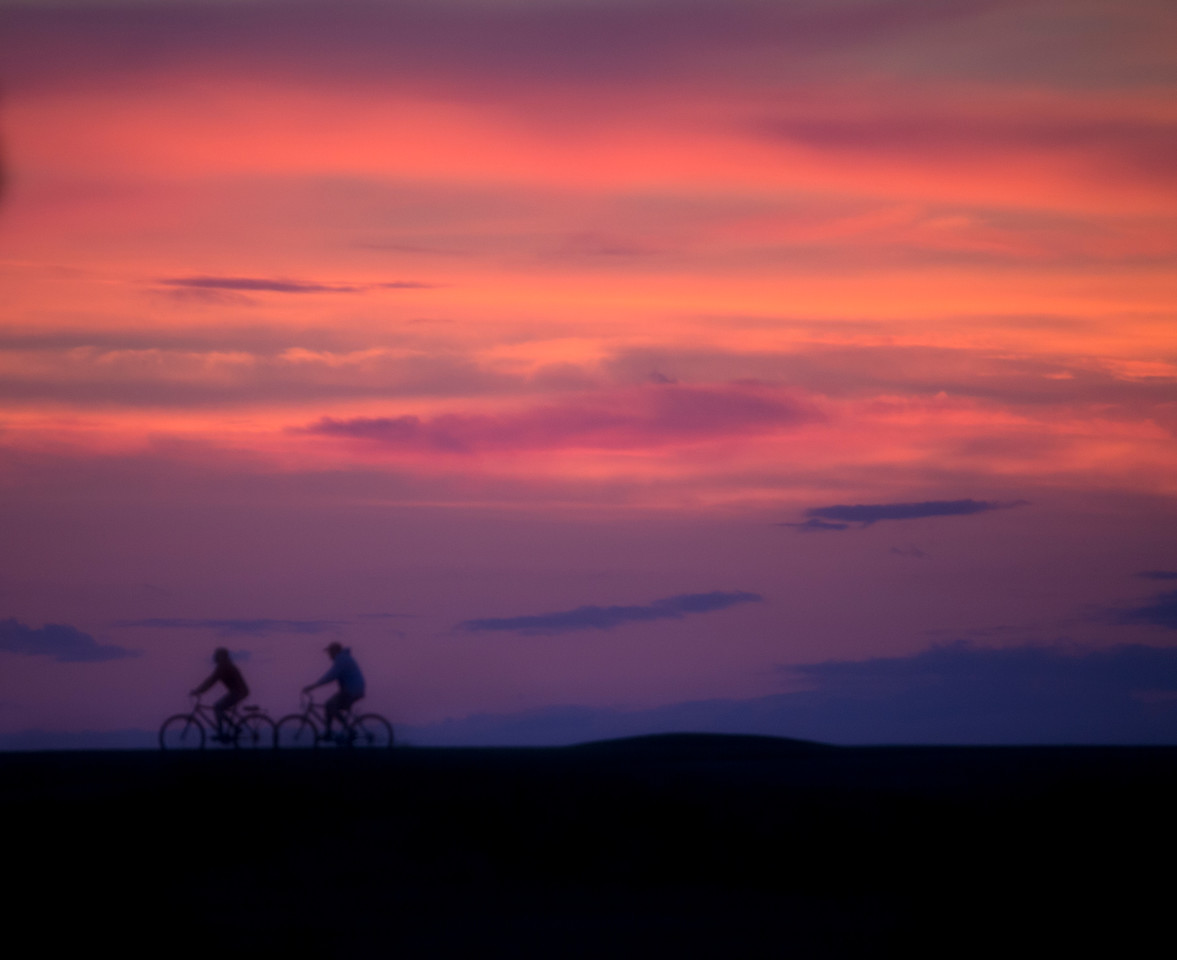 bikes sunset C6376