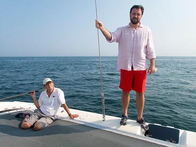 Tim Fred sailing 21514